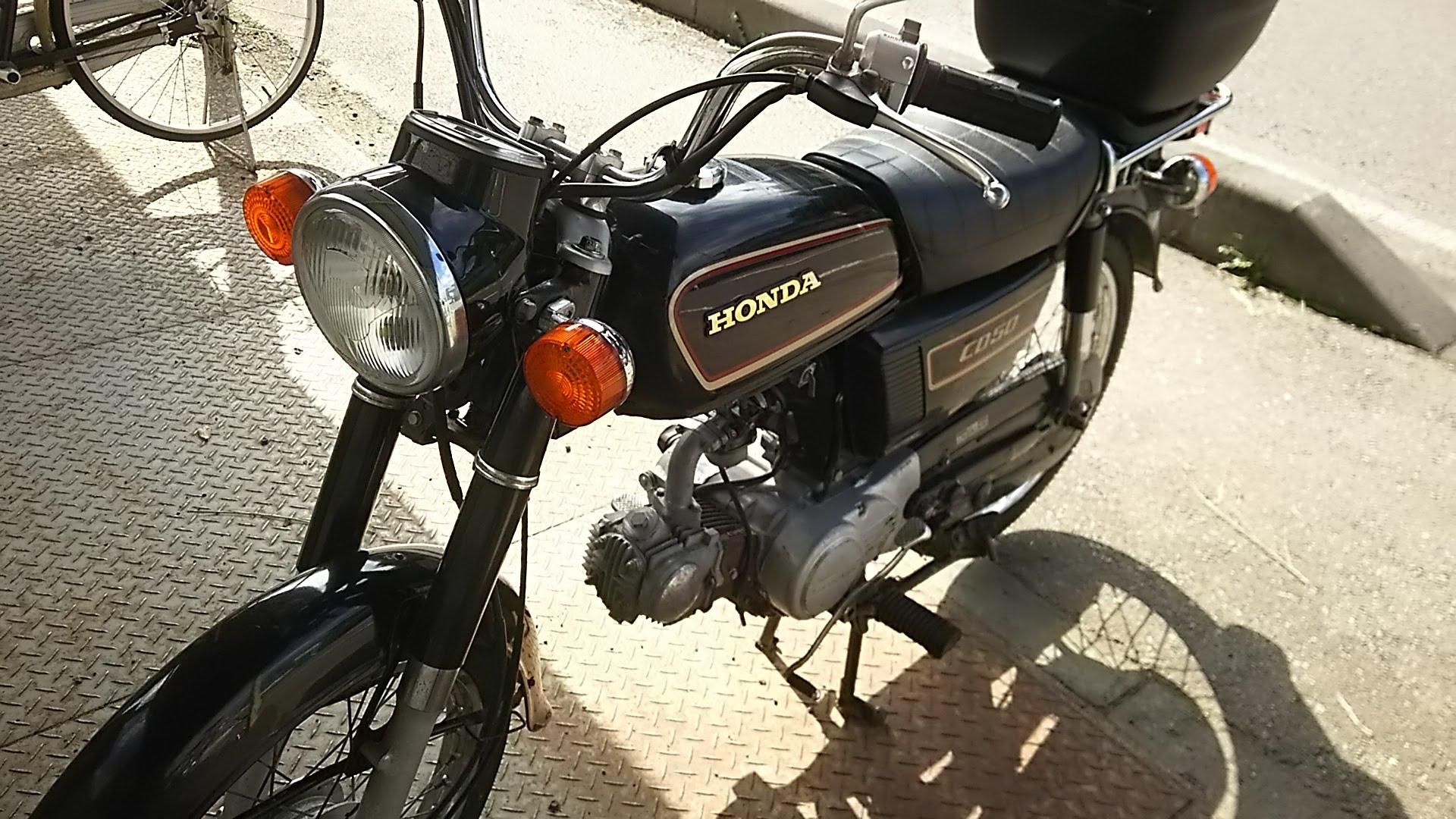 タフで経済的なビジネスバイクはこれ!ホンダBENLYCD50の魅力